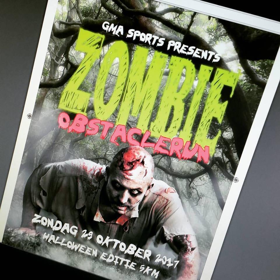 Zombie Obstaclerun Geestmerambacht 2017